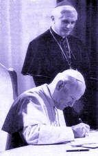 Jean-Paul II et Maria Valtorta