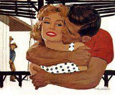 Umarmungen und Küsse...Mike Ludlow Bilder Kostenlos