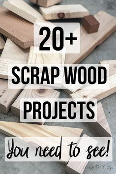 Love These Great Collection Of Easy Diy Scrap Wood Projects ! liebe diese große sammlung von easy diy schrott holzprojekte Love These Great Collection Of Easy Diy Scrap Wood Projects !
