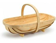 wodden basket