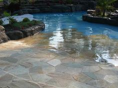 walk in pool -- yesss Most Amazing Dream Home Ideas!
