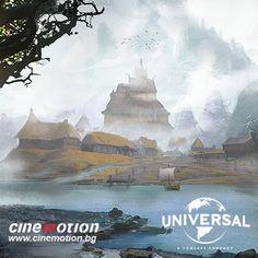 Dragonheart - Viking village, Miroslav Petrov on ArtStation at https://www.artstation.com/artwork/GKL03