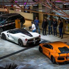 Ferrari VS Lamborghini  Follow @HustlersCreed  Follow @HustlersCreed  #  Freshly Uploaded To www.MadWhips.com  Photo by @guillaume_ettori
