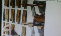 Bisagra oculta Magazine Rack, Storage, Furniture, Home Decor, Hidden Door Hinges, Occult, Purse Storage, Decoration Home, Room Decor