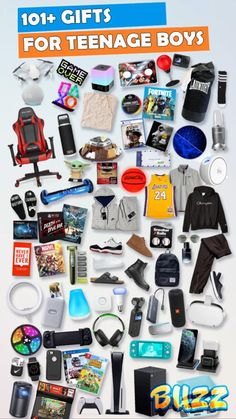 See 101+ gifts for teen boys that are perfect for Christmas, birthdays, and more. Perfect for boyfriends, sons, or nephews. Best Boys Christmas Gifts, Christmas Gift List, Teenage Girl Gifts Christmas, Christmas Gifts For Girlfriend, Christmas Fun, Cool Gifts For Teens, Gifts For Teen Boys, Birthday Gifts For Teens, Teenage Guys