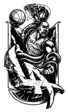 The Black Mamba - Kobe Bryant