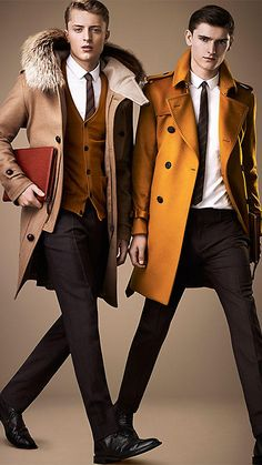 Men's Fashion: Burberry Coats <3