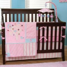 Trend Lab Brielle 4 Piece Crib Set FREE SHIPPING - $131.95