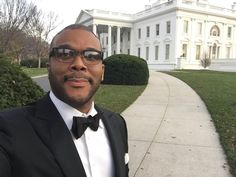 Tyler Perry's White House selfie