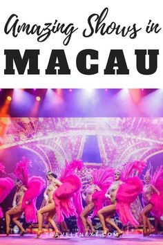 House of Dancing Water and other Macau shows to put on your list when visiting Macau. Macau is a popular entertainment hub in Asia. Travel Guides, Travel Tips, Under The Ocean, Journey To The West, China Travel, Macau Travel, Cool Bars, Plan Your Trip, Southeast Asia