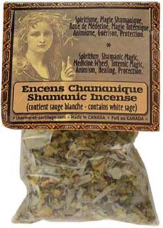 Shamanic Incense is specifically blended for spiritism, shamanic magic, medicine wheel work, totemic magic, animism, healing & protection. www.theancientsage.com
