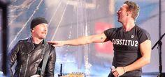 Chris Martin y U2