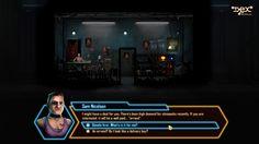 Sam Nicolson's general store. Dex - 2D cyberpunk indie RPG game - www.dex-rpg.com