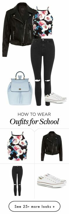 I'd rather some heels, but cute fit! Female Outfits, Teen Outfits, Cool Outfits, Casual Outfits, Outfits For School Summer, Spring Outfits, Winter Outfits, Dress And Converse, Leather Outfits