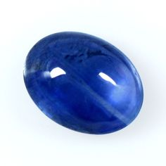 1.58 Cts Real Lustrous Royal Blue Sapphire Oval Cabochon Thailand 8x6mm Gemstone