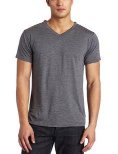 Intimo Mens Soft Knit Short Sleeve V-Neck Top $16.80