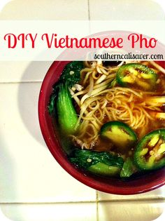 DIY PHO ( can you buy brown rice vermicelli?)