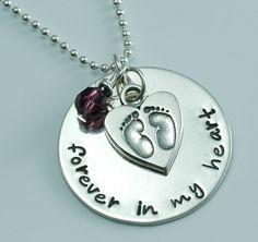 Forever+in+my+heart+Memory+Pendant+by+littleangelsmemory+on+Etsy,+$48.00