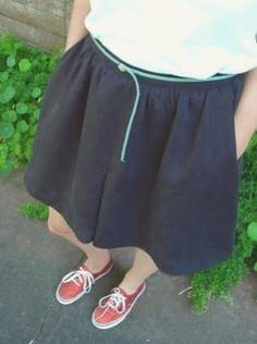 🕶🧤🤑🤩👒😏 Plus Size Sewing Patterns, Skirt Patterns Sewing, Clothing Patterns, Dress Sewing, Womens Skirt Pattern, Pants Pattern, Sew Pattern, Sewing Blouses, Diy Shorts