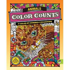 MindWare Color Counts Animals. We have a couple of these coloring books and the kids love them -- they're like paint by numbers for colored pencils.