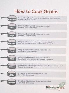 10 Ways to Cook Grain