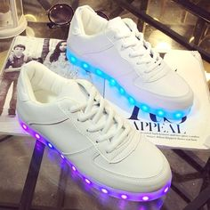 Size 25-40 High Quality Sale Luminous Glowing Sneakers Children kids Led  Shoes With Light