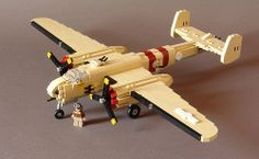 B-25H mitchell by Maelven