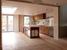 Units made from reclaimed wood and cabinets. Retrouvius Reclamation and Design