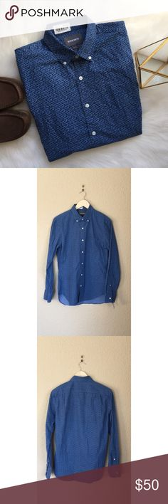 ⬇️$50 New Bonobos Button Down Shirt Slim Small Brand new Bonobos men's Slim Fit Crown Prints Button Down Shirt. Size is small and color is Blue Park Floral. This shirt is new without tags. Check out my other listings for more great deals on new Bonobos clothes. Bonobos Shirts Casual Button Down Shirts