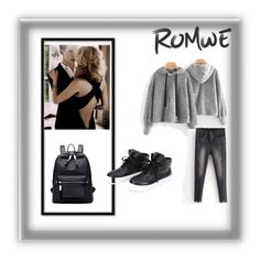 """""""ROMWE"""" by dani00-cl ❤ liked on Polyvore"""