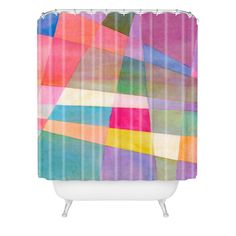 Elena Blanco Colours Shower Curtain | DENY Designs Home Accessories