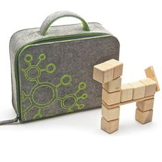 Carry tote for the magnetic Tegu hardwood blocks $18