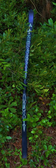 Black Longbow with Recurved Tips (60#) with Celtic Designs by CastleWallCreations on Etsy https://www.etsy.com/listing/192863664/black-longbow-with-recurved-tips-60-with