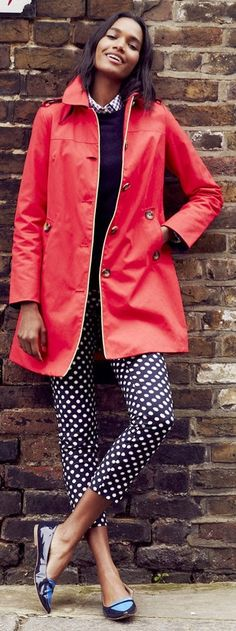 Boden 2014 - love the raincoat and polka pot combination.