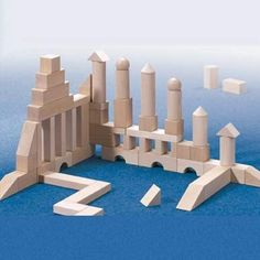 HABA Basic Building Blocks 60 Piece Large Starter Set Made in Germany >>> You could get even more details by clicking the photo. (This is an affiliate link). Wooden Blocks For Kids, Wooden Building Blocks, Kids Blocks, Big Building, Building Toys, Tinker Toys, Wooden Buildings, Starter Set, Wood Toys