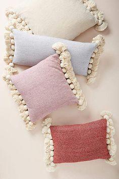 Anthropologie Tasseled Chenille Nadia Pillow #ad #affiliate #tassel #pillow #anthropologie #homedecor