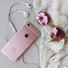 cute, iphone, rose gold, tumblr - image #3693805 by violanta on ...