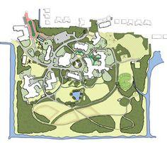 Vision on the outdoor landscape of care estate Midgard, design by Vollmer & partners. Landschapsvisie zorgterrein Midgard in Tuitjenhorn door Vollmer & partners.