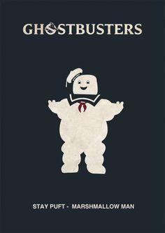Otro poster, que puedes imprimir y ayudarte para la decoración ghostbuster