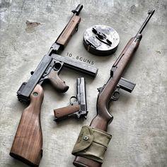 Love my classic pieces. Ww2 Weapons, Bushcraft, Gun Vault, Submachine Gun, Cool Guns, Military Weapons, Guns And Ammo, Firearms, Shotguns