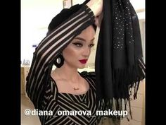 Как красиво завязать платок - YouTube