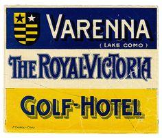 Historic Advertisment: Varenna - Royal Victoria Golf Hotel