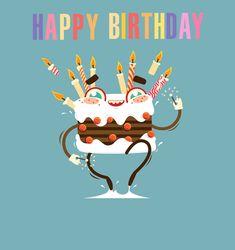 Birthday Gifs For Whatsapp Happy Emoji Rainbow Wishes