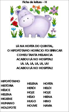 CANTINHO DA KATE: Fichas de leitura Brazilian Portuguese, Handwriting, Education, Learning, Homeschooling, Reading Activities, Literacy Activities, Read Box, Music Worksheets