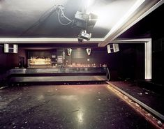 German Nightclubs during the day
