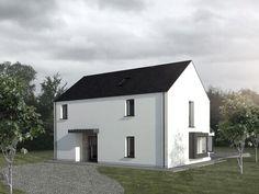 Louise Sliney Architects MRIAI  Cork   Kinsale Passive House Design, Modern House Design, House Designs Ireland, Building Extension, Two Storey House, Farmhouse Renovation, Rural House, Architect House, Modern Farmhouse
