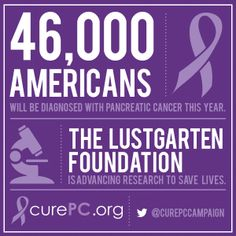 The Lustgarten Foundation is America's largest private foundation dedicated to funding pancreatic cancer research. Because of research funded by the Foundation, early detection tests are being developed, vaccines are being tested, more clinical trials are available for pancreatic cancer, and the genetic makeup of this cancer is better known now than ever before.