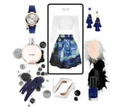 """""""The """"Art Major"""""""" by rootenist ❤ liked on Polyvore featuring WithChic, Gianvito Rossi, BaubleBar, Vivienne Westwood, Bobbi Brown Cosmetics, By Terry, Eve Lom and Chanel"""