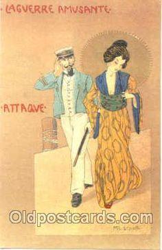 Vintage Playing card swap card US narrow named scenery 1915-1920s circa