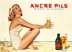 Ancre Pils Biere DAlsace 1948